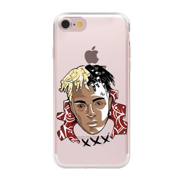 xxxtentacion iphone case x head 2 phancy case