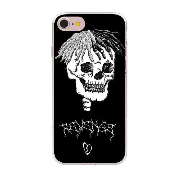 new products 3c849 c24ee XXXTentacion iPhone Case - X Skull